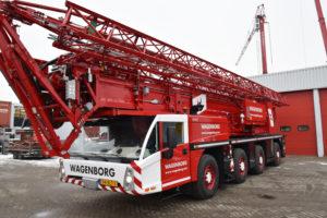 Wagenborg Nedlift investeert in nieuwe torenkranen en trucks