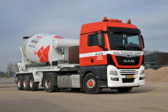 AVG Bouwstoffen wil vooroplopen en gaat betonmortel duurzaam vervoeren