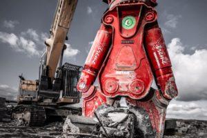 Rotar schaar gaat beton te lijf met Ramplifier