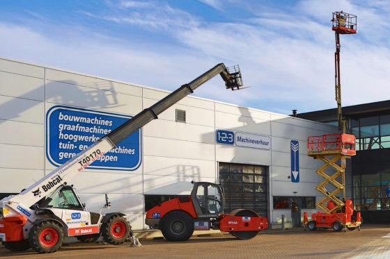 123 Machineverhuur opent in Eindhoven zijn elfde vestiging