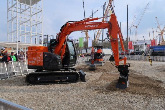 Hitachi komt met 8,5 ton zware elektrische rupsgraafmachine