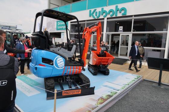 Kubota verrast met mini op LPG