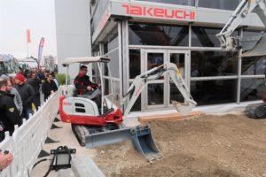 Takeuchi werkt aan elektrische minigraver