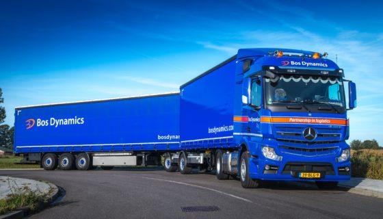 Bos Dynamics bestelt tien nieuwe Mercedes-Benz Actros trucks