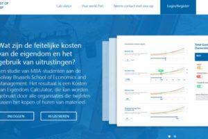 ERA verbetert online calculator om totale eigendomskosten van materieel te vergelijken