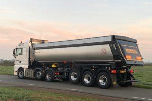 Meiller asfaltkippers standaard met bluetooth