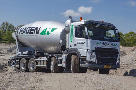 Tiende Volvo betonmixer voor Hagen in twee jaar
