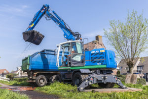 VIDEO | Atlas 160W Blue voor baggerwerk
