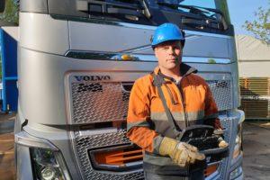 Volvo FH op afstand besturen met Drimote