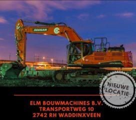 ELM Bouwmachines Grondverzetdagen