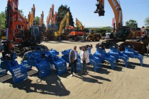 Rotar levert tien sloop-/sorteergrijpers aan Next Rental