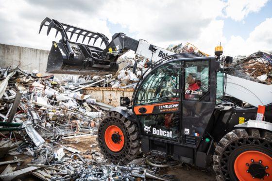 Bobcat komt met vier nieuwe verreikers voor de recycling