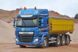 DAF legt focus op bouw en grondverzet