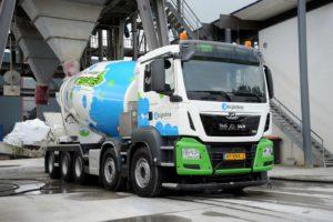 Kijlstra Beton kiest met hybride betonmixers voor duurzaamheid