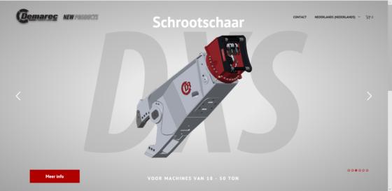 Demarec tools op nieuwe website
