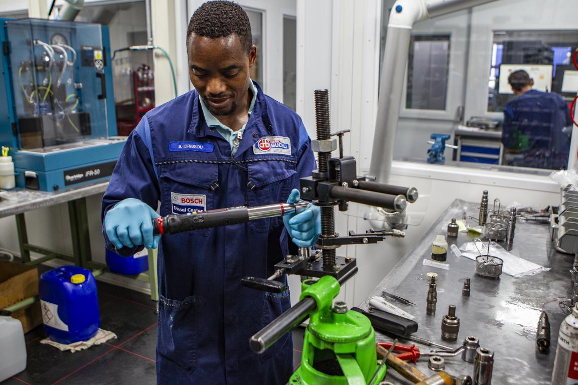 Testen en reviseren van common-rail injectoren