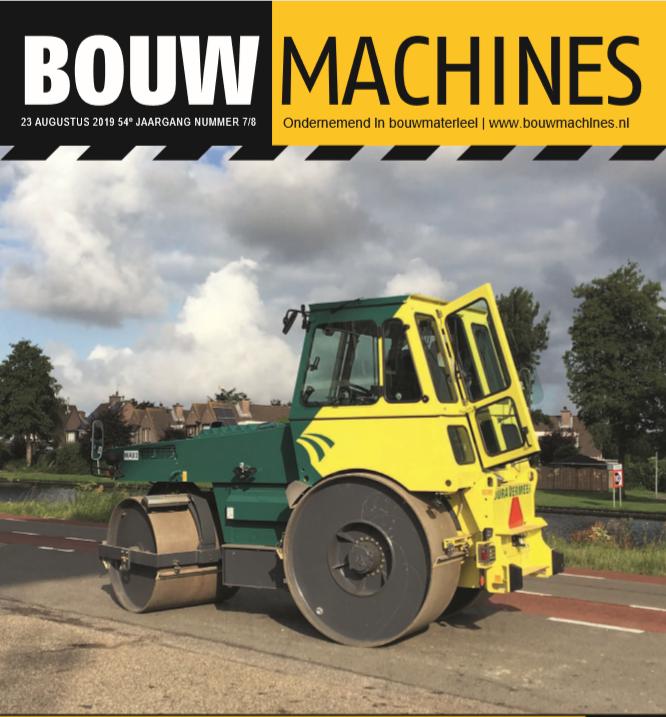 BouwMachines editie 7/8-2019