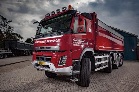 Volvo FMX 8×8 voor Geert Hummel Transport en Grondwerken