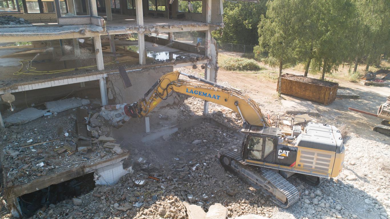 Lagemaat sloopt HAN-complex in Nijmegen
