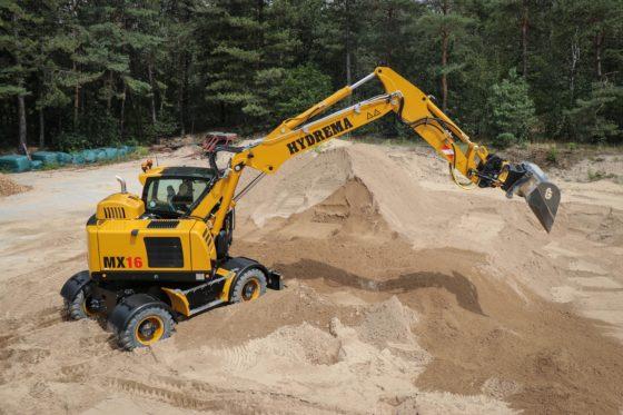 VIDEO | BouwMachines test Hydrema MX16, een moderne 18-tons machine