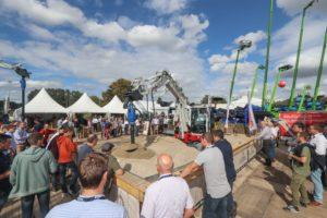 FOTOREPORTAGE | Matexpo brengt veel nieuw materieel voor het eerst naar de Benelux
