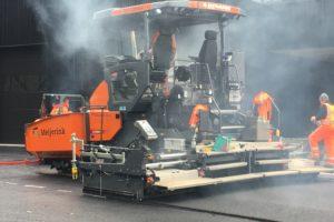 Wereldprimeur: Dynapac SD2500CS met Stage-V motor voor Meijerink