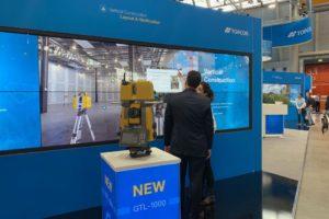 Nieuwe Topcon-technologie voor BIM op Intergeo