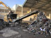 Lindner Urraco 75 voor BPS Recycling en Bouwstoffen