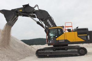 Volvo levert eerste hooglepel graafmachine in Europa