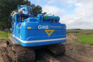 GMB haalt veel milieuwinst met zware machines
