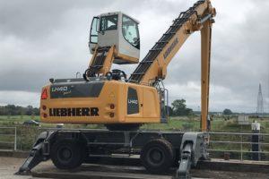 Liebherr ontwikkelt LH 40 Port overslagkraan specifiek voor Nederland