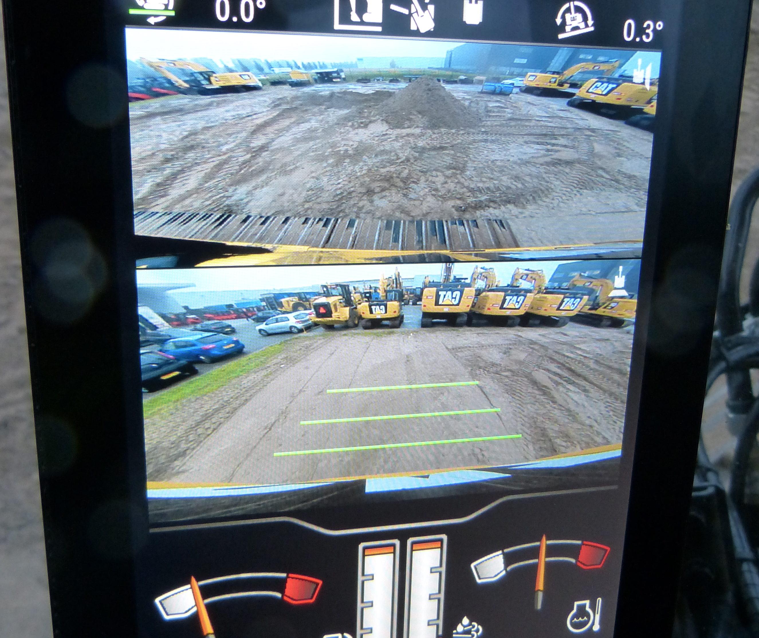 Het digitale hart van de machine is dit scherm. Sterk punt is dat je via het display heel veel eigen voorkeuren kunt instellen.