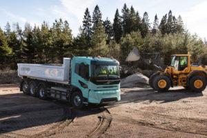 Volvo Trucks presenteert zware elektrische concepttrucks voor de bouw
