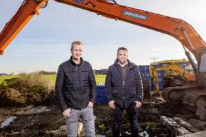 Leiders van het bouwprotest Klaas Kooiker en Arnold Tuytel: 'Rutte viel eigenlijk tegen'